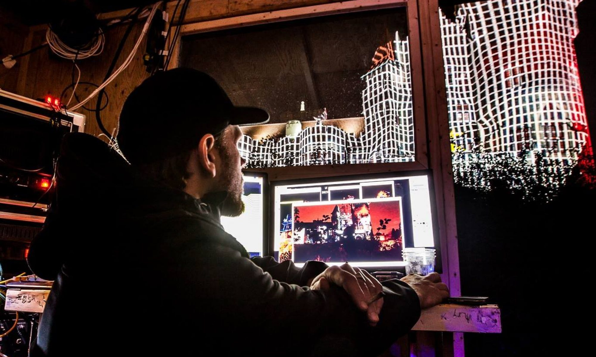 live video art